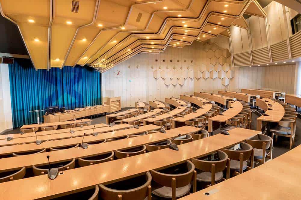 Konferencelokale designet af Per Arnoldi