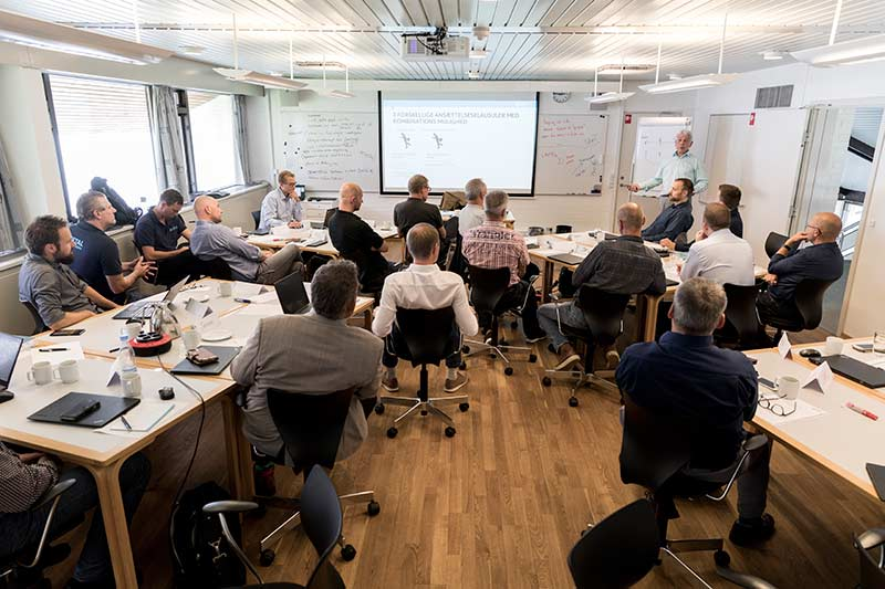 Kursuslokale i Nordsjælland